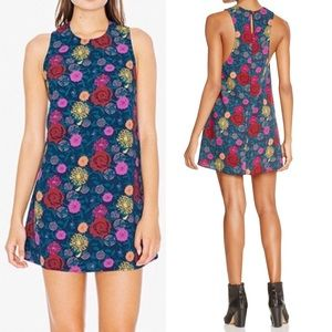 ❤️American Apparel Night Bloom Dakota Dress